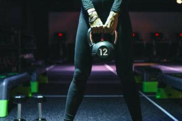 6 best kettlebell workout for women